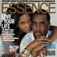 Diddy et son ex-compagne Kim Porter en couverture du magazine Essence. Décembre 2006.