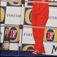Ayrton Senna au Grand Prix d'Australie, le 12 novembre 1993.