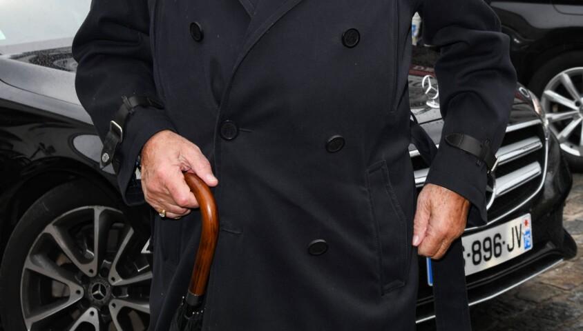 Jean-Claude Camus - Obsèques de Dick Rivers en l'église Saint-Pierre de Montmartre à Paris le 2 mai 2019.