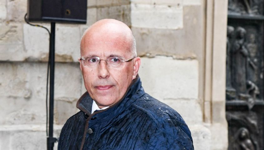 Éric Ciotti, Conseiller départemental des Alpes-Maritimes - Obsèques de Dick Rivers en l'église Saint-Pierre de Montmartre à Paris le 2 mai 2019.