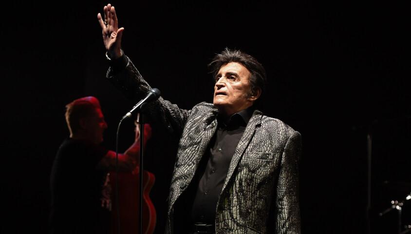 Dick Rivers en concert au théâtre Lino Ventura à Nice le 15 décembre 2018. © Lionel Urman/Bestimage