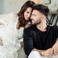 Nabilla est enceinte de Thomas Vergara. Avril 2019.