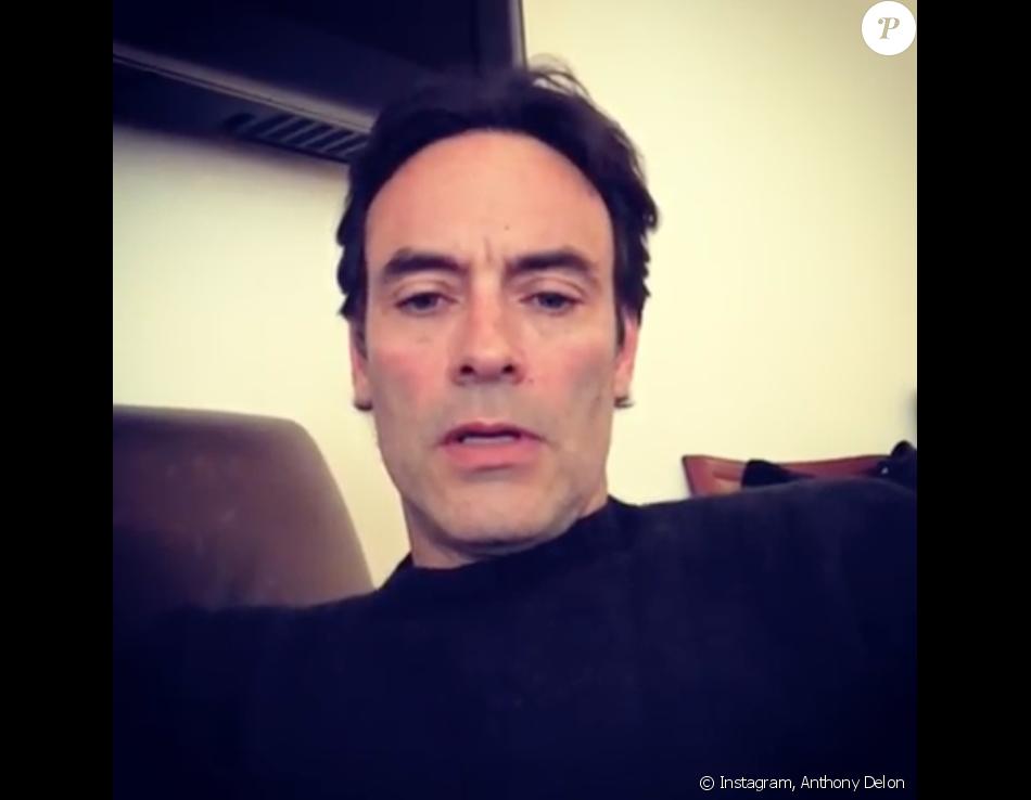 """Anthony Delon répond à """"Un jour,un destin"""" sur Instagram, le 4 mai 2019."""