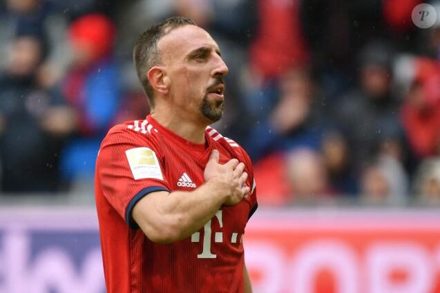 Franck Ribéry lors du match Bayern Munich-Hanovre le 4 mai 2019.