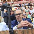 Jaime de Marichalar, père de Victoria Federica de Borbon y Marichalar, le 5 mai 2019 aux arènes de Séville lors du défilé des attelages anciens dans le cadre de la Feria.