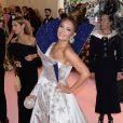 """Thalia - Arrivées des people à la 71ème édition du MET Gala (Met Ball, Costume Institute Benefit) sur le thème """"Camp: Notes on Fashion"""" au Metropolitan Museum of Art à New York, le 6 mai 2019"""