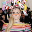 """Cara Delevingne - Arrivées des people à la 71ème édition du MET Gala (Met Ball, Costume Institute Benefit) sur le thème """"Camp: Notes on Fashion"""" au Metropolitan Museum of Art à New York, le 6 mai 2019"""