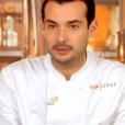 """Samuel lors de la demi-finale de """"Top Chef 10"""" mercredi 1er mai 2019 sur M6."""