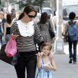 Christy Turlington et sa fille Grace à NYC, le 29 mai