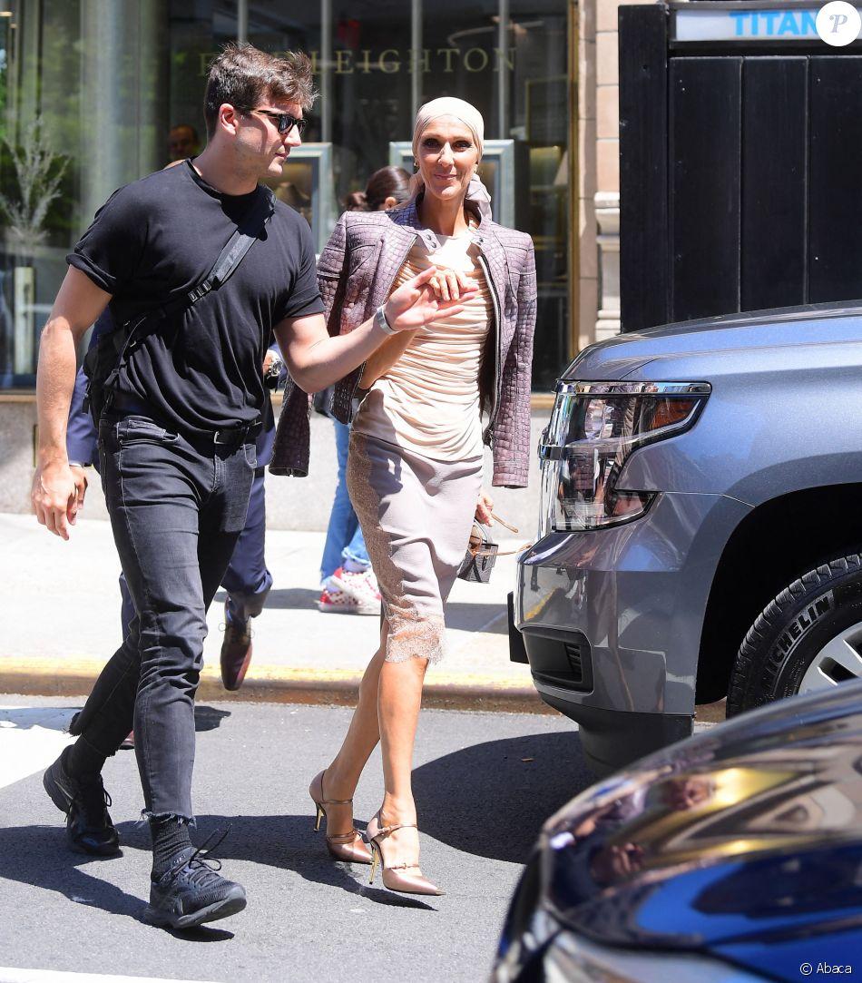 Céline Dion et Pepe Munoz dans les rues de New York, le 8 mai 2019