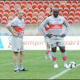 Jean-Claude Darmon et le président de la chaîne Africa 24 Diagna Ndiaye, deux super footeux !