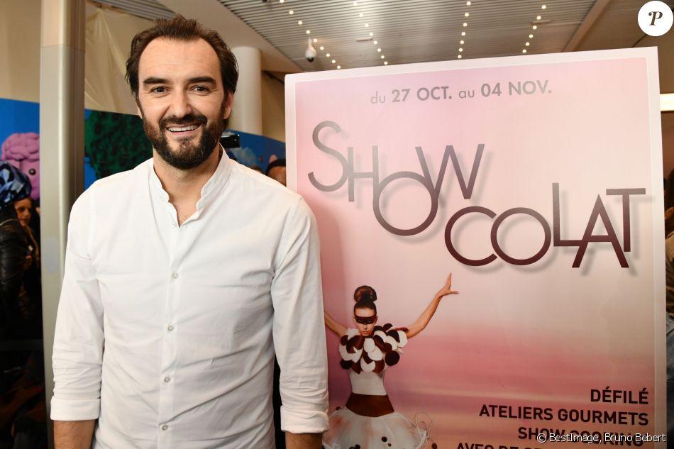 """Cyril Lignac est l'invité """"Star"""" de ShowColat le 2 novembre 2018. © Bruno Bebert/Bestimage"""