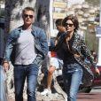 Exclusif - Lisa Rinna et son mari Harry Hamlin sont allés déjeuner en amoureux à Malibu, le 17 mars 2019.