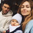 Caroline Receveur, Hugo Philip et leur fils Marlon - Instagram, 9 mai 2019
