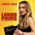 """Lindsay Lohan au générique de """"Labour Pains""""... directement à la télévision !"""
