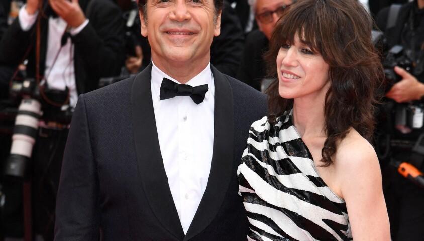 """Javier Bardem et Charlotte Gainsbourg - Montée des marches du film """"The Dead Don't Die"""" lors de la cérémonie d'ouverture du 72e Festival International du Film de Cannes. Le 14 mai 2019"""