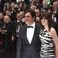 """Javier Bardem et Charlotte Gainsbourg à la première de """"The Dead Don't Die"""" lors de l'ouverture du 72e Festival International du Film de Cannes, le 14 mai 2019."""