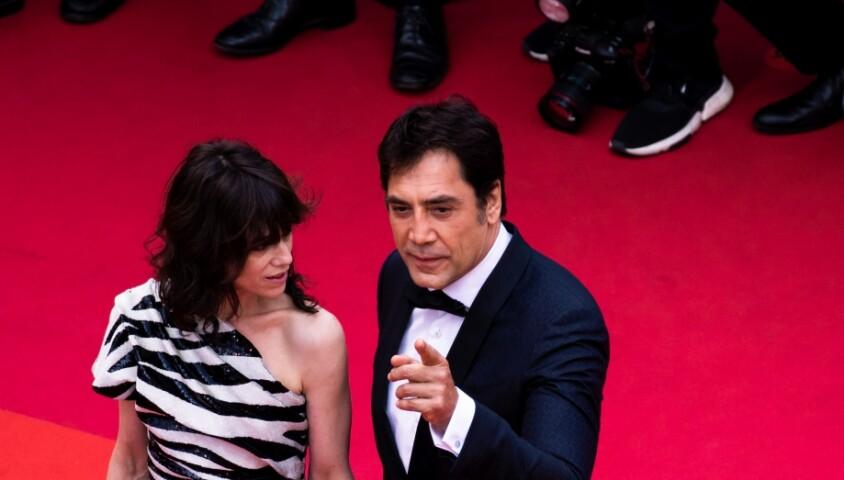 """Charlotte Gainsbourg et Javier Bardem - Montée des marches du film """"The Dead Don't Die"""" lors de la cérémonie d'ouverture du 72e Festival International du Film de Cannes. Le 14 mai 2019 © Borde / Jacovides / Moreau / Bestimage"""
