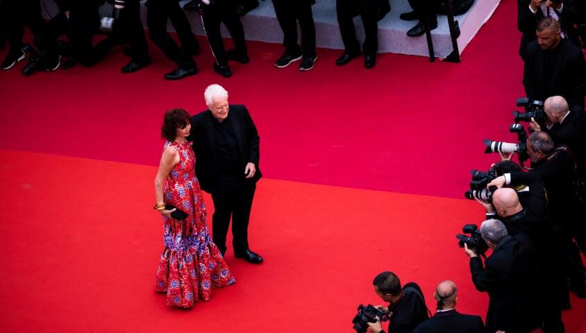"""Sabine Azema et André Dussollier - Montée des marches du film """"The Dead Don't Die"""" lors de la cérémonie d'ouverture du 72e Festival International du Film de Cannes. Le 14 mai 2019 © Borde / Jacovides / Moreau / Bestimage"""