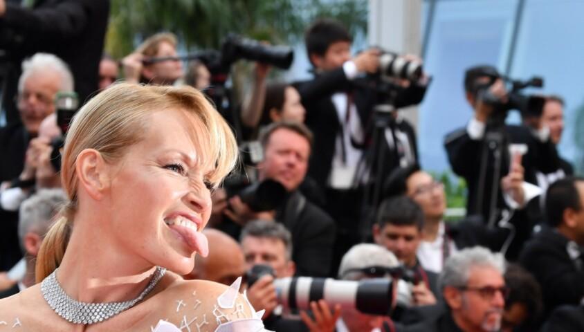 """Estelle Lefébure à la première de """"The Dead Don't Die"""" lors de l'ouverture du 72e Festival International du Film de Cannes, le 14 mai 2019. © Rachid Bellak/Bestimage"""