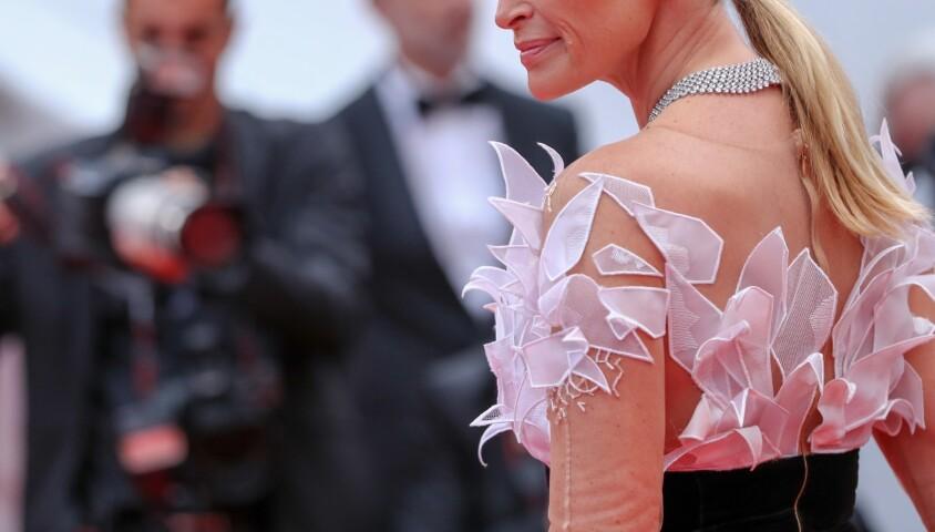 """Estelle Lefébure - Montée des marches du film """"The Dead Don't Die"""" lors de la cérémonie d'ouverture du 72e Festival International du Film de Cannes. Le 14 mai 2019 © Jacovides-Moreau / Bestimage"""