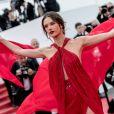 """Alessandra Ambrosio - Montée des marches du film """"Les Misérables"""" lors du 72ème Festival International du Film de Cannes. Le 15 mai 2019 © Jacovides-Moreau / Bestimage"""