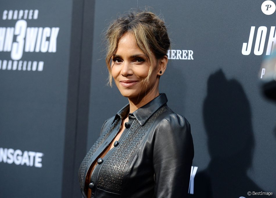 Halle Berry à la projection John Wick: Chapter 3 Parabellum dans le quartier de Hollywood à Los Angeles, le 15 mai 2019.