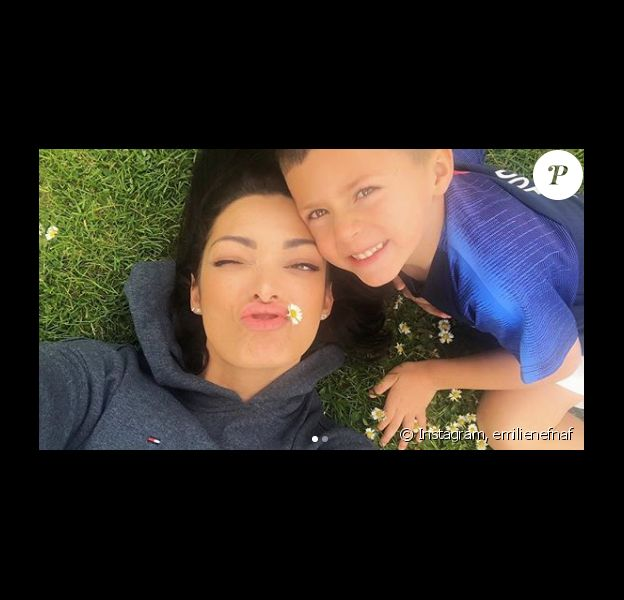 Emilie Nef Naf et son fils Menzo - Instagram, 30 avril 2019