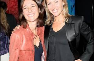 Les ravissantes Anne-Sophie Lapix et Alexia Laroche-Joubert... ont vraiment le rythme dans la peau !
