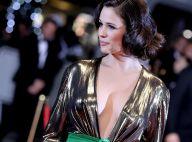 Lucie Lucas, glamour avec son décolleté très échancré, fait fureur à Cannes