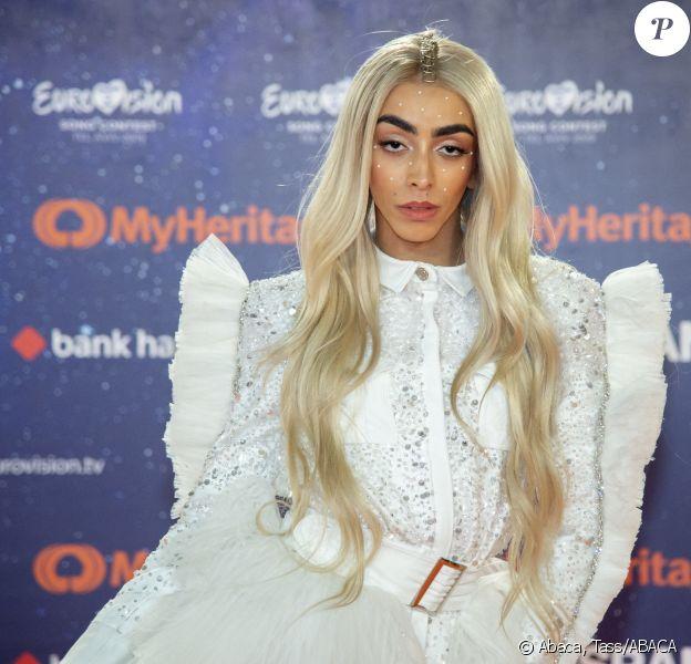 Bilal Hassani lors de la cérémonie d'ouverture de l'Eurovision, le 12 mai 2019 à Tel Aviv.