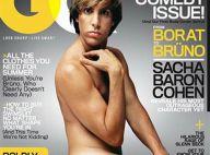 Brüno entièrement nu... Sacha Baron Cohen crée encore le scandale ! Il adore !!!!!