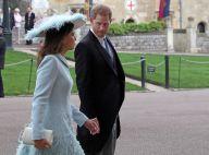 Prince Harry au bras d'une jolie brune au mariage de Gabriella Windsor