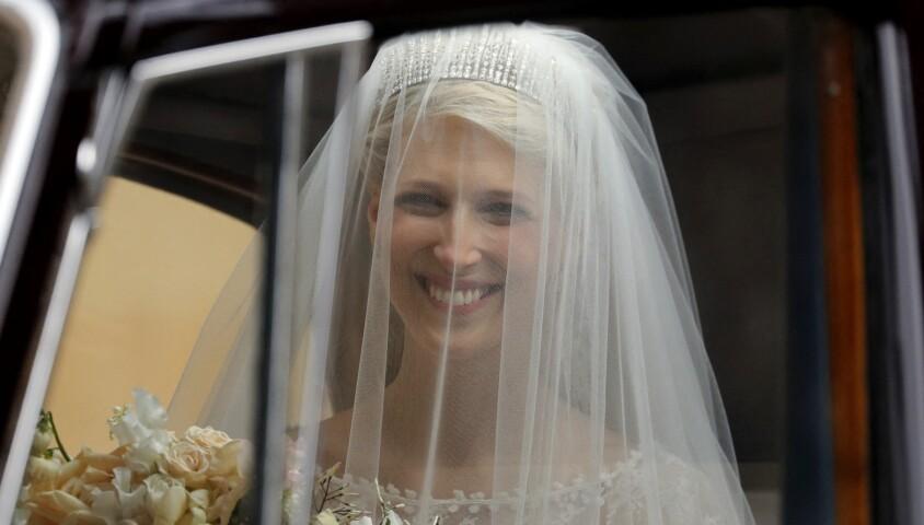 Lady Gabriella Windsor - Mariage de Lady Gabriella Windsor avec Thomas Kingston dans la chapelle Saint-Georges du château de Windsor le 18 mai 2019.