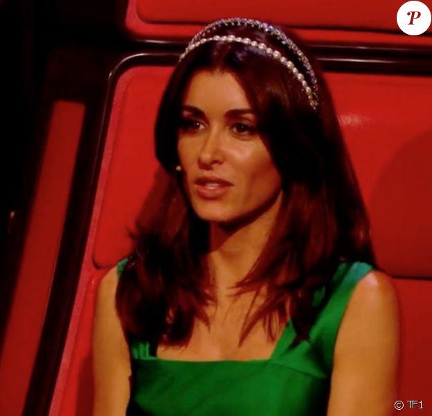 """Jenifer dans """"The Voice"""" le 18 mai 2019-  Capture TF1."""