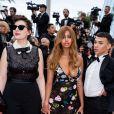 """Rebecca Zlotowski, Zahia Dehar, guest - Montée des marches du film """"A Hidden Life"""" lors du 72ème Festival International du Film de Cannes. Le 19 mai 2019 © Borde / Bestimage -"""
