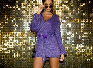 Malika Ménard : Canon en robe scintillante, devant Rayane Bensetti déchaîné