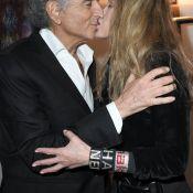 BHL avec Arielle Dombasle : Baiser passionné devant sa fille, Justine Lévy