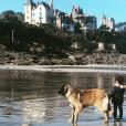 Abbie, la fille de Faustine Bollaert et Maxime Chattam, en Bretagne - Instagram, 22 février 2019
