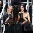 Stella Maxwell, Kendall Jenner, Adesuwa Aighewi participent à la vente aux enchères de la soirée AmfAR Gala Cannes 2019 à l'Eden Roc au Cap d'Antibes lors du 72ème Festival International du Film de Cannes, le 23 mai 2019. © Jacovides / Moreau / Bestimage