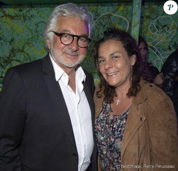 """Exclusif - Franck Provost et sa fille Olivia Provost - 9ème soirée """"Sandra and Co"""" lors du 72ème Festival International du Film de Cannes le 23 mai 2019. © Pierre Perusseau/Bestimage"""