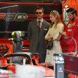 Pierre Casiraghi et sa femme Beatrice Borromeo lors du 77e Grand Prix de F1 de Monaco le 26 mai 2019. © Bruno Bebert/Bestimage