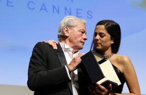 Alain Delon et sa fille, sa préférée ?
