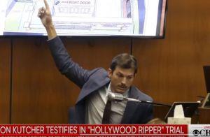 Ashton Kutcher, témoin au procès de l'Eventreur d'Hollywood, relate sa