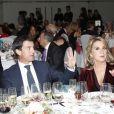 """Manuel Valls et sa compagne Susana Gallardo lors de la soirée """"Los Premios Planeta 2018"""" à Barcelone en Espagne le 15 octobre 2018, leur première apparition officielle en couple. En mai 2019, l'ex-Premier ministre français a annoncé dans une émission espagnole leur mariage à venir."""