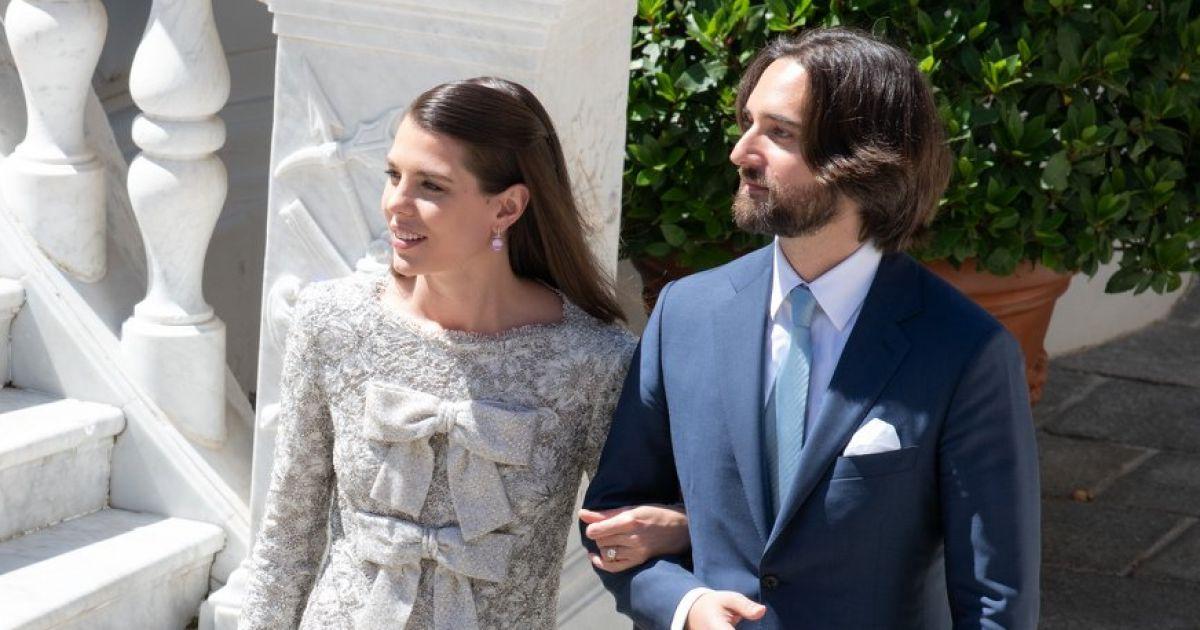 Mariage de Charlotte Casiraghi et Dimitri Rassam  La première photo des  mariés , Purepeople