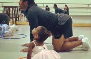Ciara : Russell Wilson devient une danseuse étoile pour leur fille, Sienna