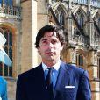 Nacho Figueras et sa femme Delfina Blaquier - Les invités arrivent à la chapelle St. George pour le mariage du prince Harry et de Meghan Markle au château de Windsor, Royaume, Uni, le 19 mai 2018.