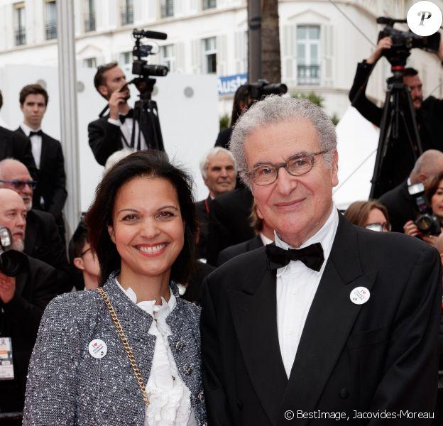 """Isabelle Giordano et Serge Toubiana - Montée des marches du film """"La belle époque"""" lors du 72ème Festival International du Film de Cannes. Le 20 mai 2019 © Jacovides-Moreau / Bestimage"""