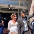 """Jesta et Benoît, révélés dans """"Koh-Lanta, l'île au trésor"""" (TF1) en 2016, ont célébré leur mariage le 1er juin 2019 à Toulouse."""